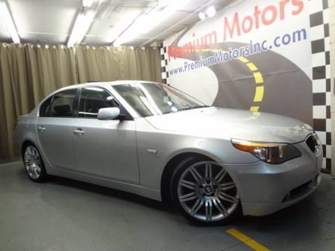 2004 BMW 5 Series for sale at Premium Motors in Villa Park IL
