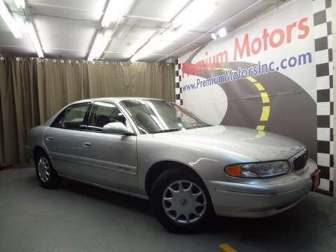 2001 Buick Century for sale at Premium Motors in Villa Park IL