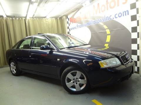 2002 Audi A6 for sale at Premium Motors in Villa Park IL