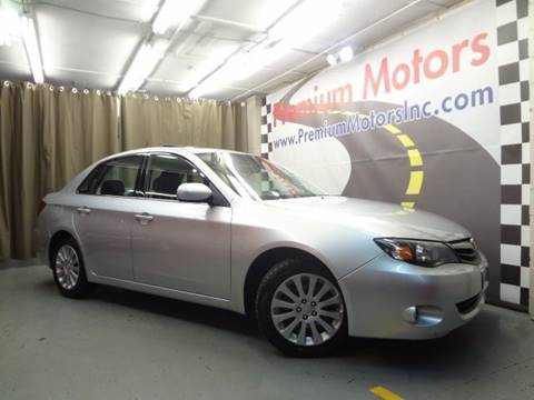 2010 Subaru Impreza for sale at Premium Motors in Villa Park IL