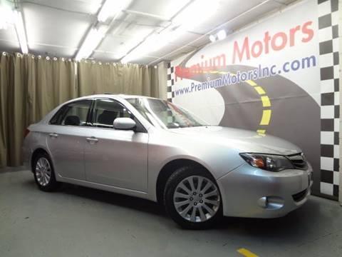2010 Subaru Impreza for sale at Premium Motors in Villa Park IL