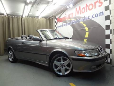 2002 Saab 9-3 for sale at Premium Motors in Villa Park IL