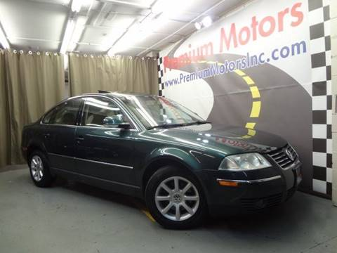 2004 Volkswagen Passat for sale at Premium Motors in Villa Park IL