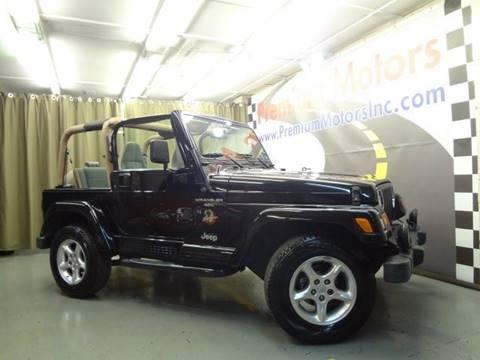 2001 Jeep Wrangler for sale at Premium Motors in Villa Park IL