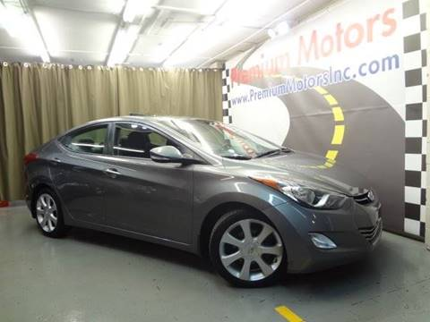 2013 Hyundai Elantra for sale at Premium Motors in Villa Park IL