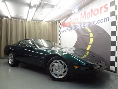 1993 Chevrolet Corvette for sale at Premium Motors in Villa Park IL