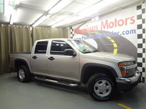 2005 Chevrolet Colorado for sale at Premium Motors in Villa Park IL