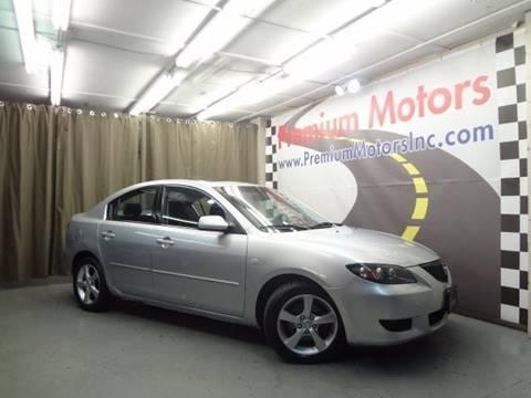 2005 Mazda MAZDA3 for sale at Premium Motors in Villa Park IL