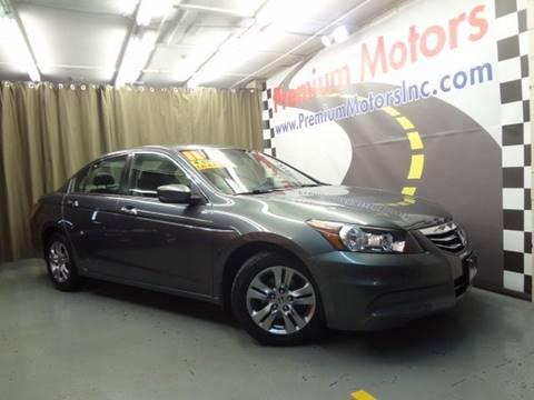 2011 Honda Accord for sale at Premium Motors in Villa Park IL