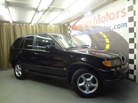 2001 BMW X5 for sale at Premium Motors in Villa Park IL