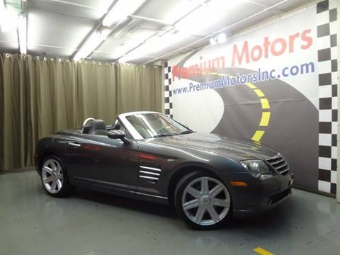 2005 Chrysler Crossfire for sale at Premium Motors in Villa Park IL