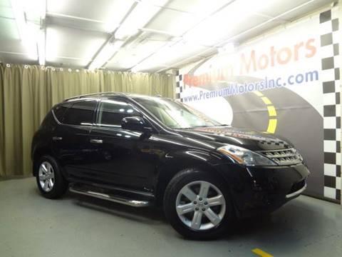 2007 Nissan Murano for sale at Premium Motors in Villa Park IL
