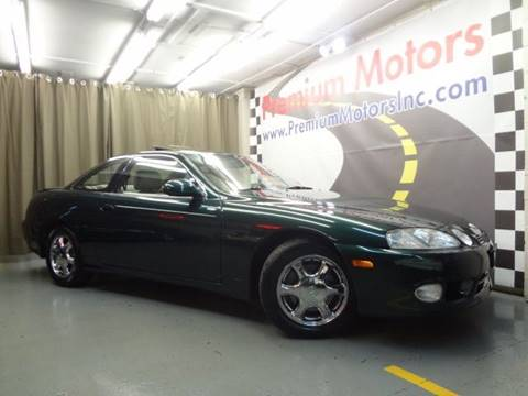 1999 Lexus SC 300 for sale at Premium Motors in Villa Park IL
