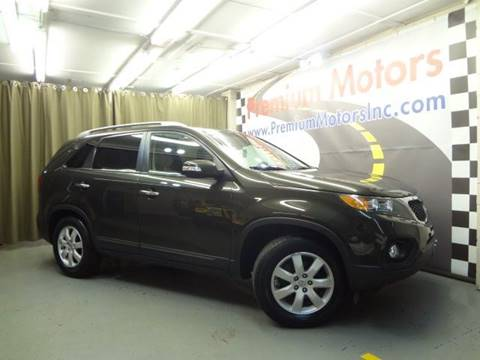 2012 Kia Sorento for sale at Premium Motors in Villa Park IL