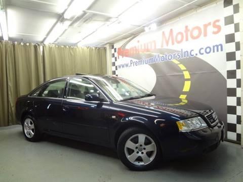 2001 Audi A6 for sale at Premium Motors in Villa Park IL