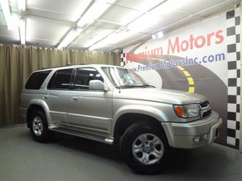 2001 Toyota 4Runner for sale at Premium Motors in Villa Park IL