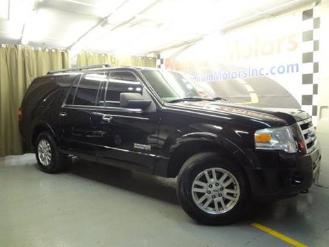 2008 Ford Expedition EL for sale at Premium Motors in Villa Park IL