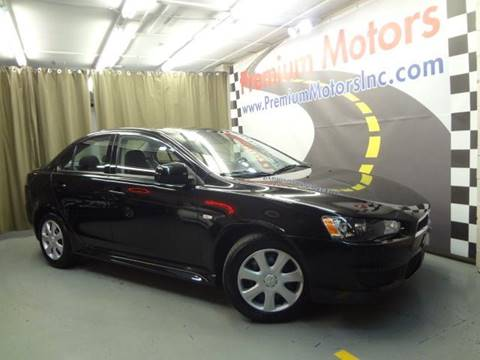 2013 Mitsubishi Lancer for sale at Premium Motors in Villa Park IL