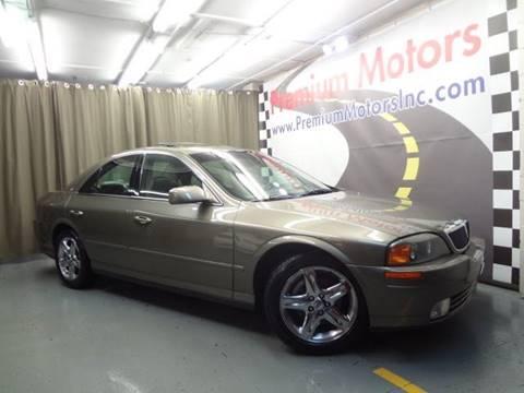 2002 Lincoln LS for sale at Premium Motors in Villa Park IL