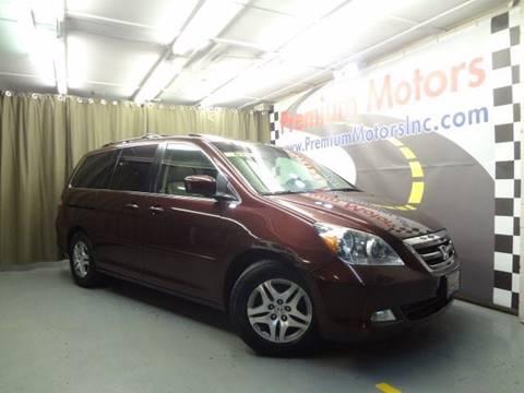 2007 Honda Odyssey for sale at Premium Motors in Villa Park IL