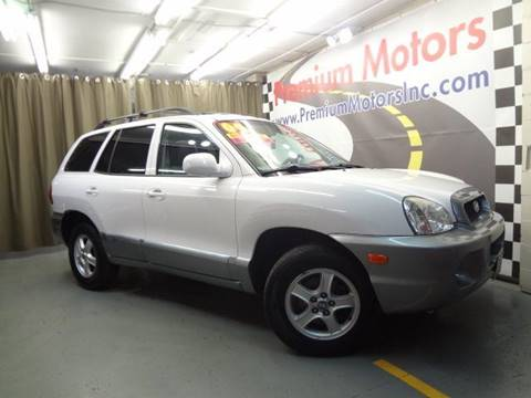 2004 Hyundai Santa Fe for sale at Premium Motors in Villa Park IL