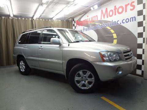 2003 Toyota Highlander for sale in Villa Park, IL