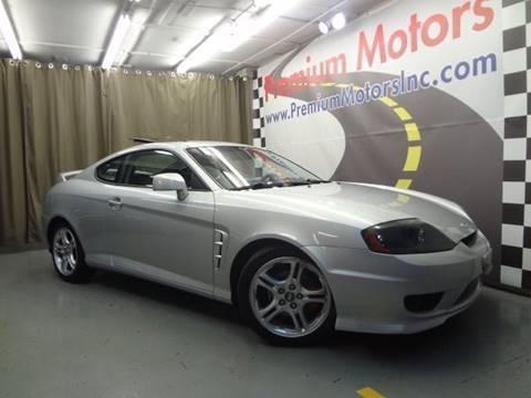 2005 Hyundai Tiburon for sale at Premium Motors in Villa Park IL