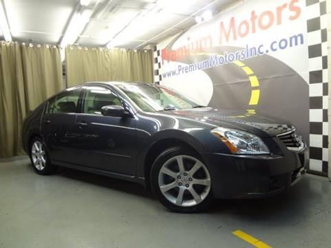2007 Nissan Maxima for sale at Premium Motors in Villa Park IL