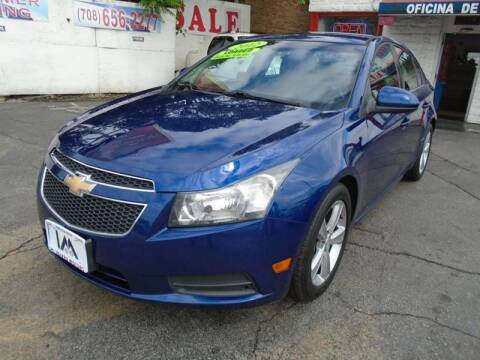 2012 Chevrolet Cruze LT for sale at IBARRA MOTORS INC in Cicero IL