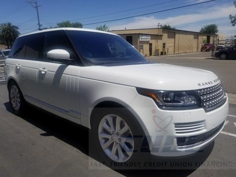 Land Rover Sacramento >> Used Land Rover Range Rover For Sale In Sacramento Ca Carsforsale