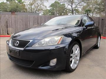 2006 Lexus IS 350 for sale in Spring, TX