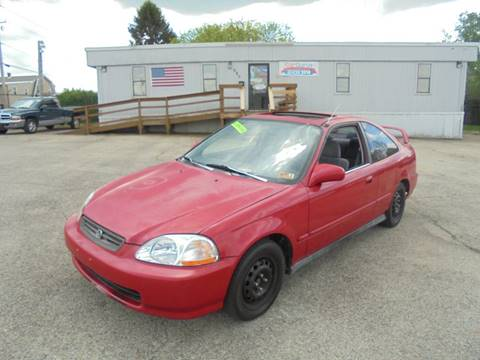 1998 Honda Civic for sale in Uniontown, PA