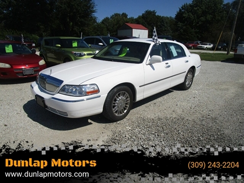 2008 Lincoln Town Car for sale in Dunlap, IL