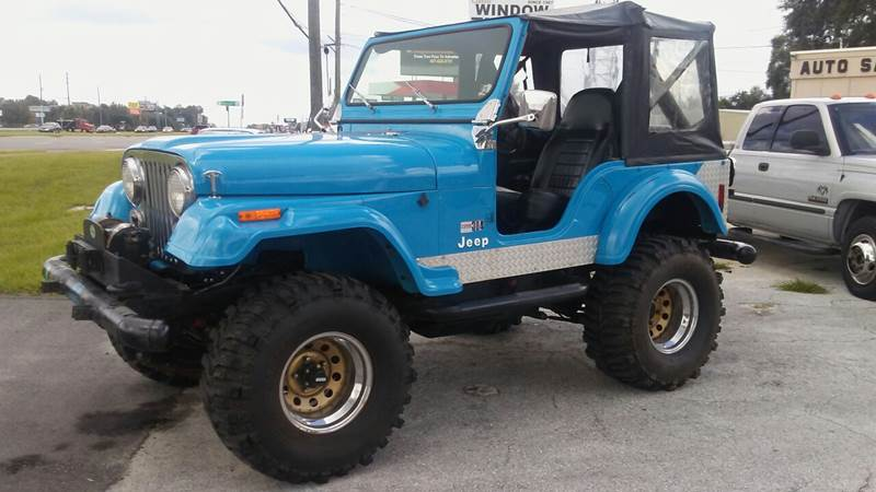 1978 Jeep CJ-5 for sale at First Choice Auto in Orlando FL