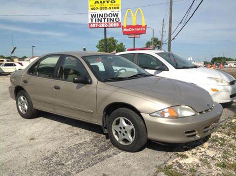 2001 Chevrolet Cavalier for sale at First Choice Auto in Orlando FL