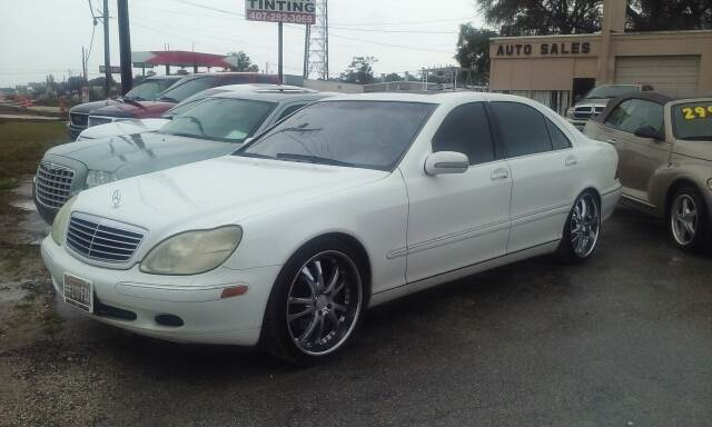 2001 Mercedes-Benz S-Class S 500 4dr Sedan - Orlando FL