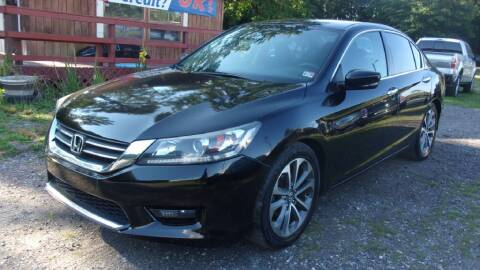 2013 Honda Accord for sale at Select Cars Of Thornburg in Fredericksburg VA