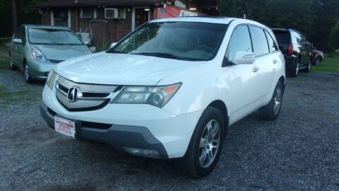 2007 Acura MDX for sale at Select Cars Of Thornburg in Fredericksburg VA