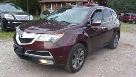 2010 Acura MDX for sale at Select Cars Of Thornburg in Fredericksburg VA