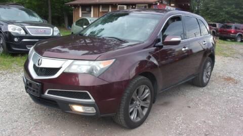 2010 Acura MDX for sale at Select Cars Of Thornburg in Fredericksburg VA