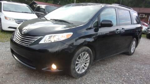 2015 Toyota Sienna for sale at Select Cars Of Thornburg in Fredericksburg VA