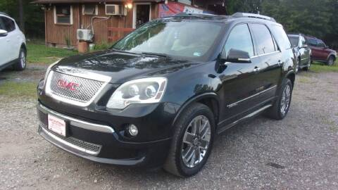 2011 GMC Acadia for sale at Select Cars Of Thornburg in Fredericksburg VA