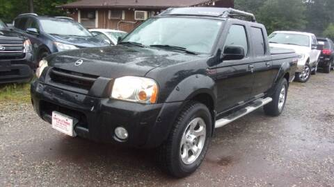 2002 Nissan Frontier for sale at Select Cars Of Thornburg in Fredericksburg VA
