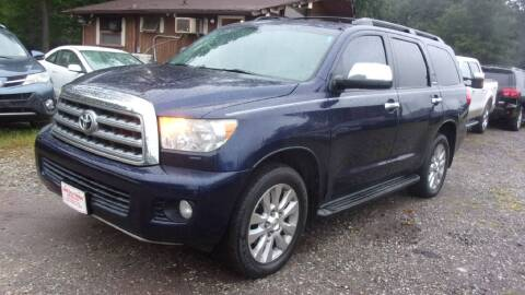 2008 Toyota Sequoia for sale at Select Cars Of Thornburg in Fredericksburg VA