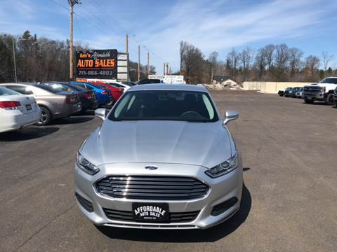 2013 Ford Fusion for sale in Webster, WI