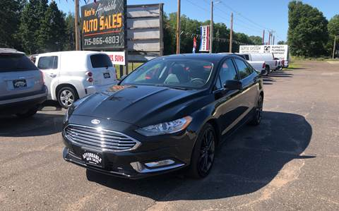 2018 Ford Fusion for sale in Webster, WI