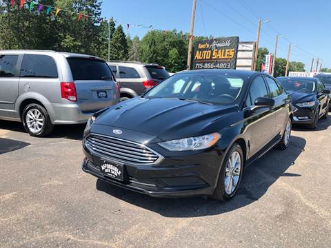 2017 Ford Fusion for sale in Webster, WI