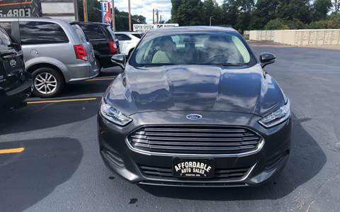 2016 Ford Fusion for sale in Webster, WI