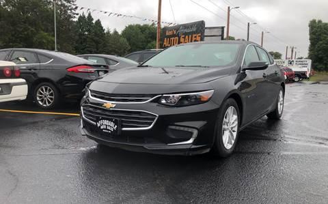 2016 Chevrolet Malibu for sale in Webster, WI