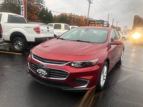 2017 Chevrolet Malibu for sale in Webster, WI